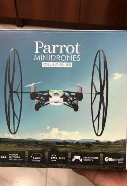 Parrot rolling spider blanco
