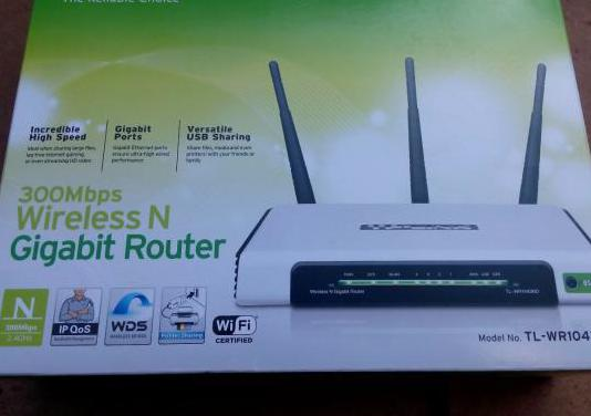 Router wifi tp-link tl-wr1043nd