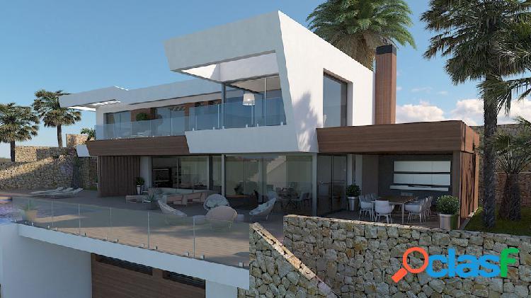 Se vende esta villa moderna co 1