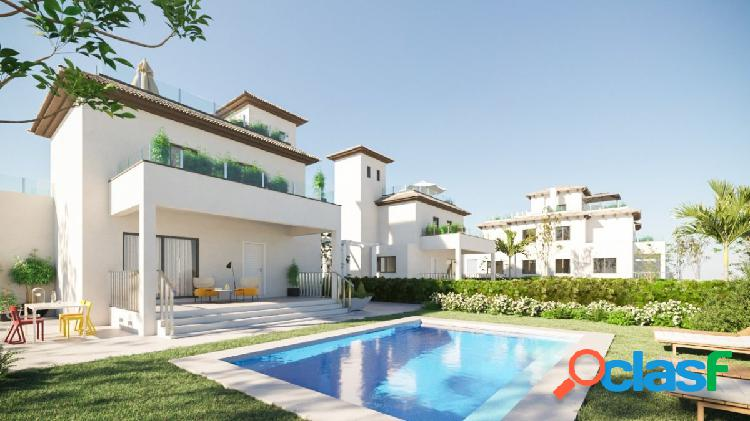 Villas, piscina + parking, playa del pinet - la marina.