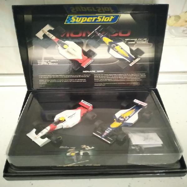 Set Mónaco 1992 Superslot Senna / Mansell