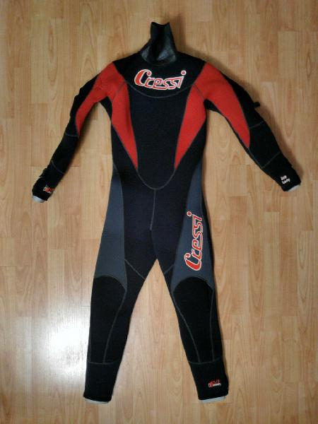 Traje buceo semiestanco mujer cressi ice lady m