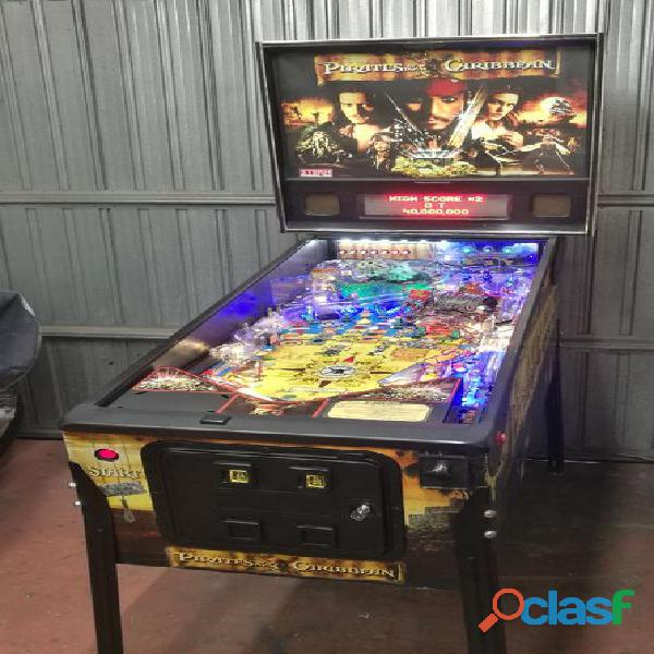 Pinball flipper pirates caribbean