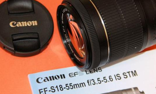 Canon ef 18-55mm f:3,5-5,6 is stm