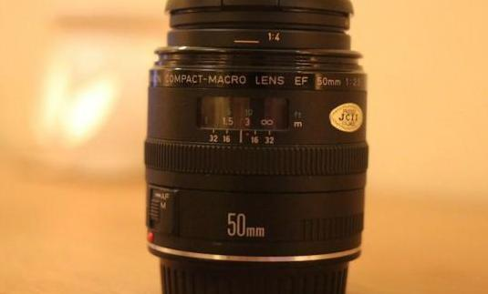 Canon ef 50mm f:2,5 compact macro