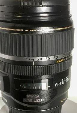 Canon ef-s 17-85mm f/4.5-5.6 is usm