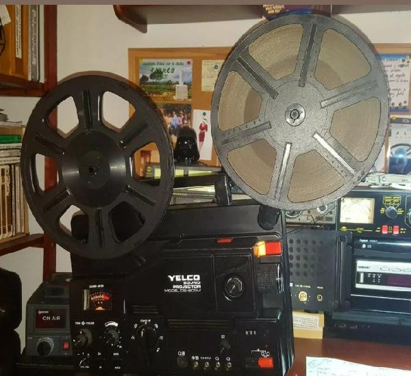 Proyector super 8 yelco alta gama mod ds-805m