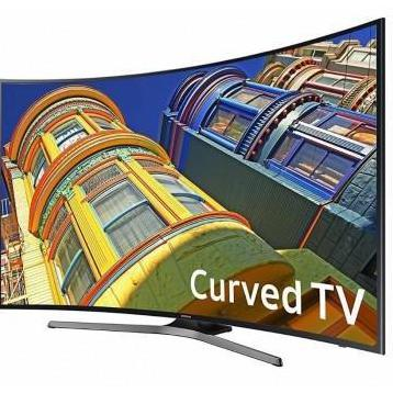Samsung curved 4k 55-inch smart tv