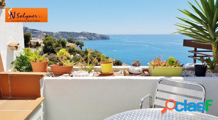 Piso equipado moderno con fantástica terraza y vistas