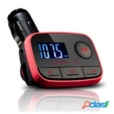 Energy sistem mp3 car f2 racing red, original de la marca energy sistem