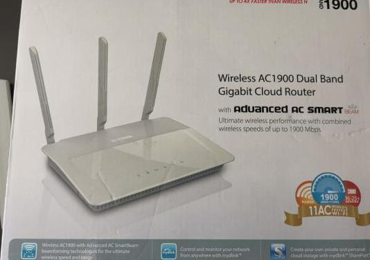 Wireless gigabit router ac1900 dual band d link