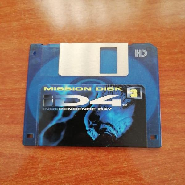 Juego pc independence day 1996