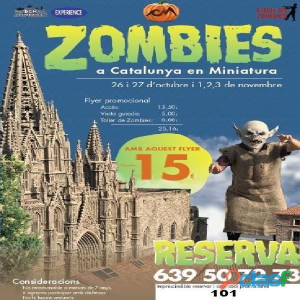 Zombies a catalunya miniatura!