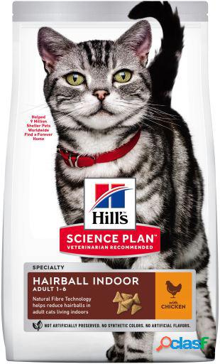 Hill's science plan adult indoor hairball pollo 3 kg