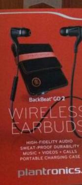 Auriculares backbeat go bluetooth plantronics