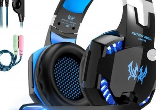 Auriculares gaming con 3.5mm jack - compatible