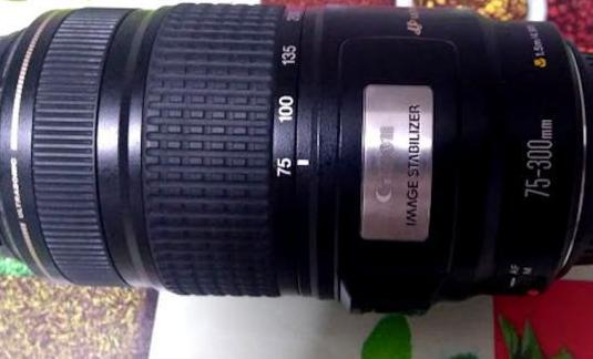 Canon ef 75-300mm 4-5.6 is usm
