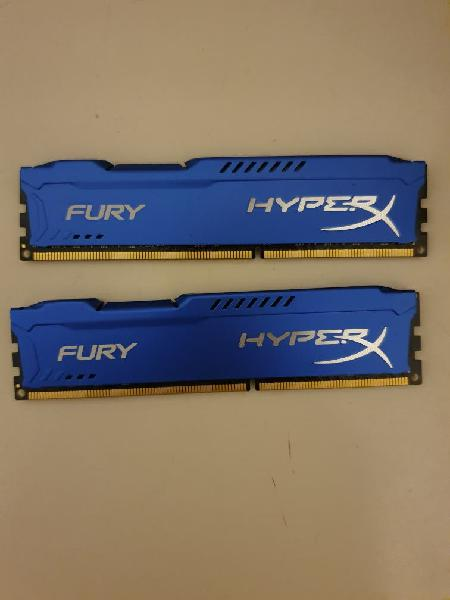 Memorias ram kingston fury hyper x