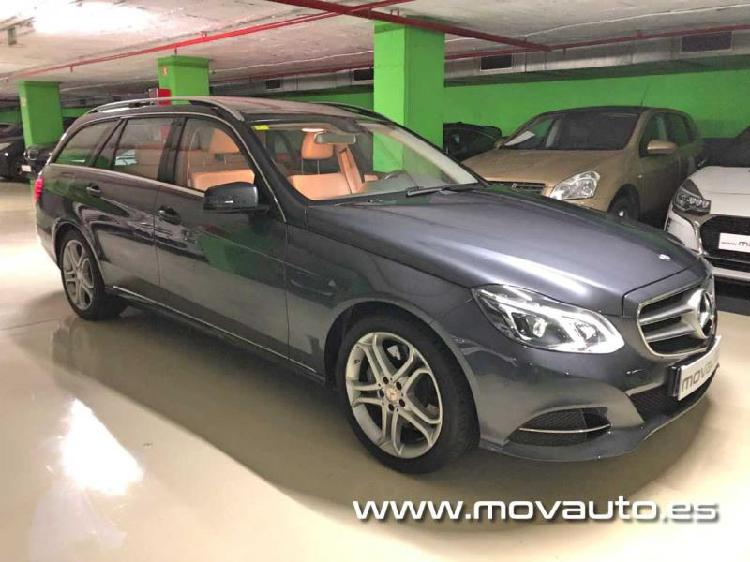 Mercedes-Benz Clase E Estate 2015 gasolina 333cv