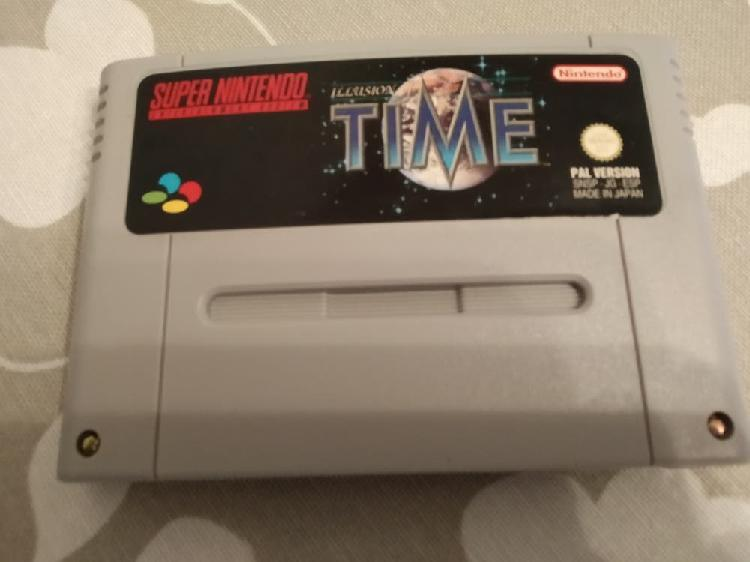 Ilusion of time snes
