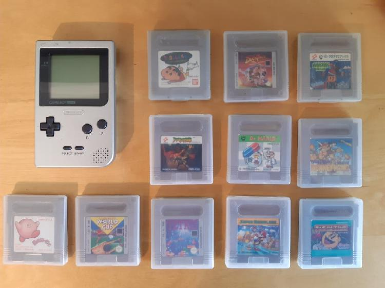 Gameboy pocket con juegos