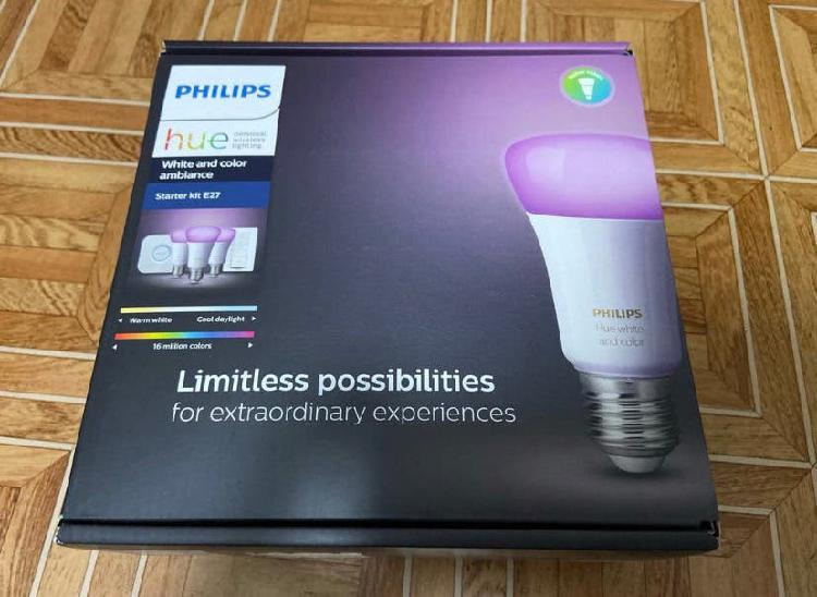 Philips hue white and color ambiance - kit x3