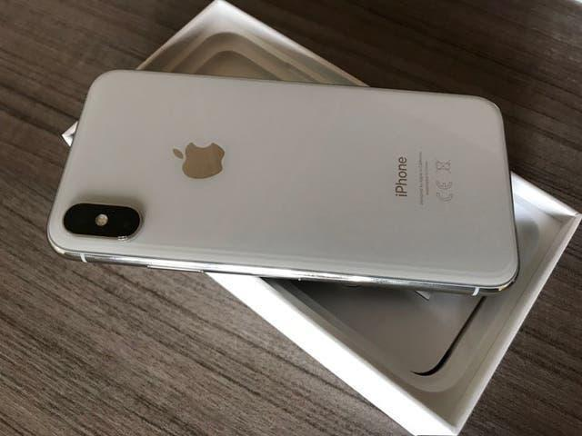Iphone x 256gb (impecable)
