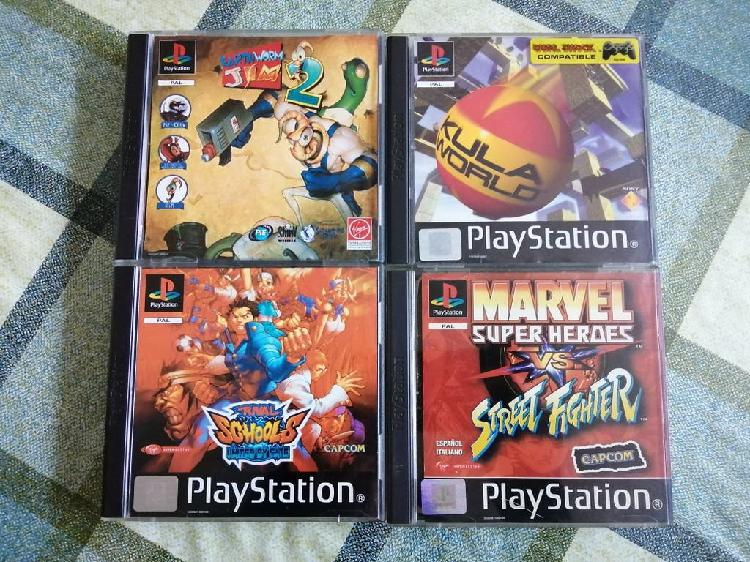 Lote pack juegos ps1 completos pal españa psx