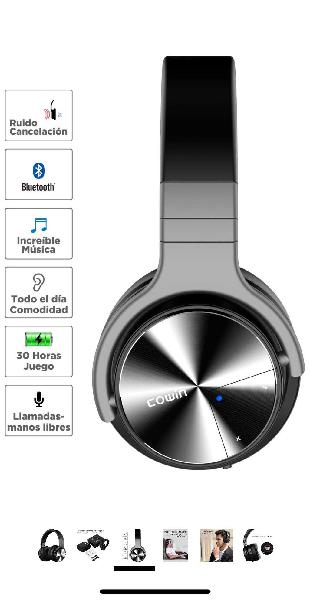 Auriculares bluetooth cowin e7 pro