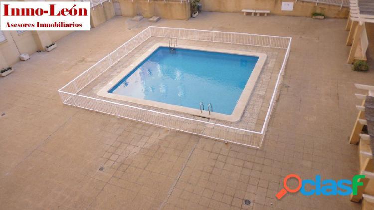 Piso con piscina y plaza de garaje zona plaza madrid-avda. de novelda