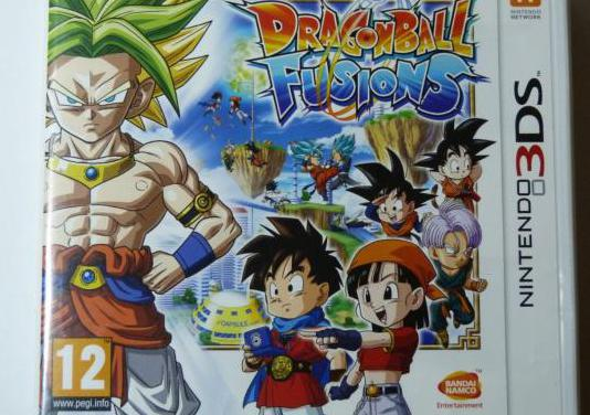 Dragon ball fusions 3ds 2ds