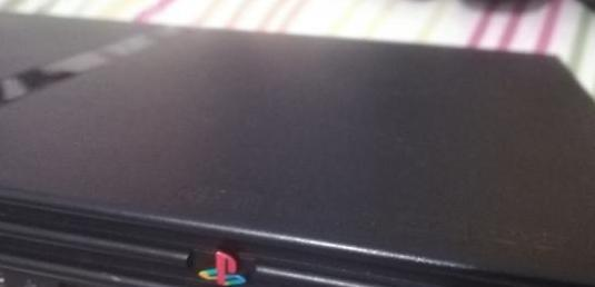 Ps2 play station 2 slim negra