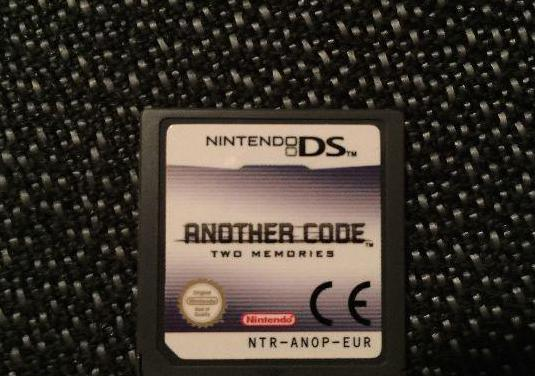 Videojuego another code