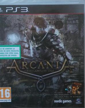 Arcania the complete tale nuevo ps3 play3