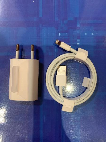 Cable lightning y adaptador corriente 5 w. nuevos.