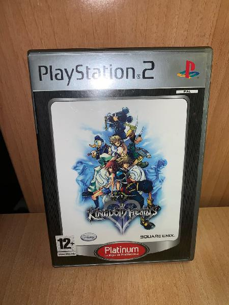 Kingdom hearts 2 play station 2 platinum