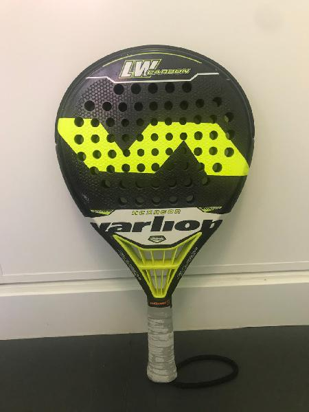 Pala pádel varlion lw carbon hexagon difusor