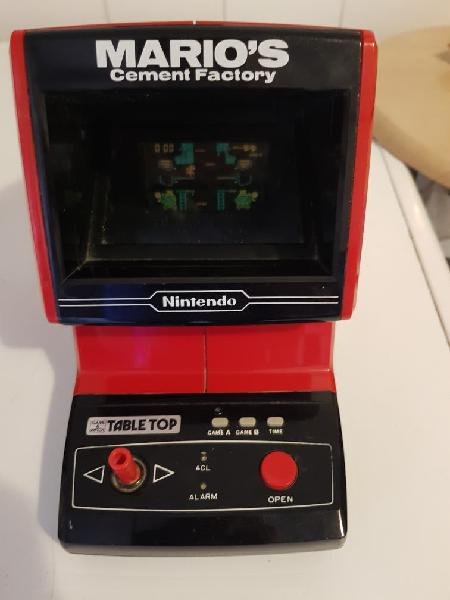 Maquinita nintendo game&watch tabletop