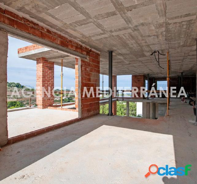 VENTA EN EXCLUSIVA Moderno chalet en construcción con vistas al mar en Las Rotas 3
