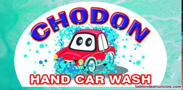 Lavado manual de vehículos chodon hand car wash