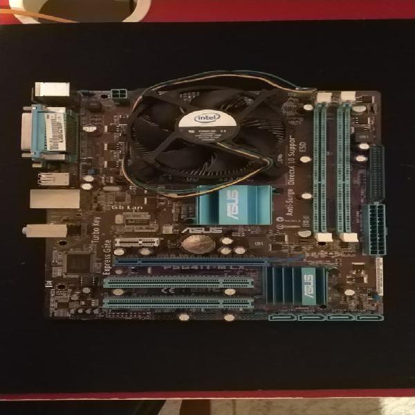 Placa base asus + intel xeon