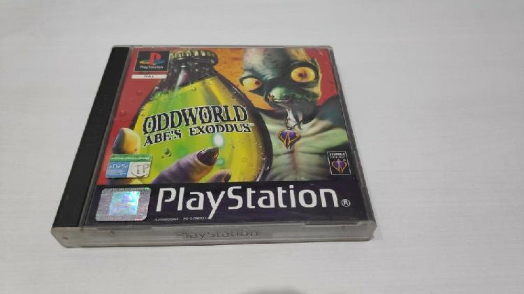 Abe's exoddus completo pal españa psx playstation