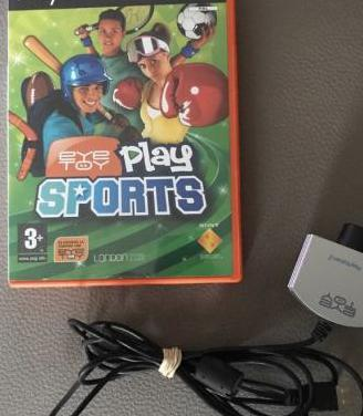 Juego ps2. eye toy. play sports.