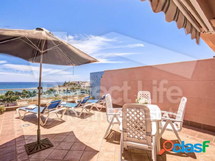 Dúplex de 1 dormitorio cerca de la playa con fantásticas vistas al mar