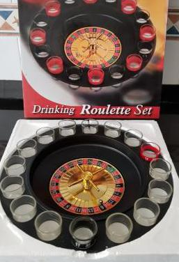 Juego chupitos ruleta drinking roulette
