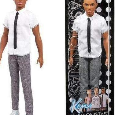 Muñeco ken fashionista barbie