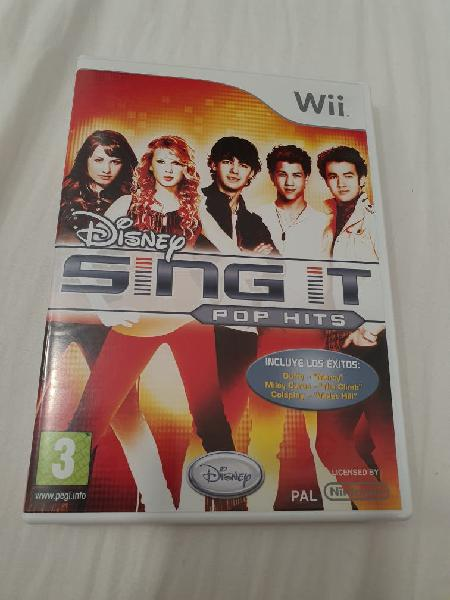 Sing it pop hits (wii)