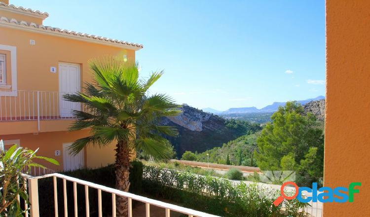 Apartamentos del estilo mediterraneo en benitachell, cumbre del sol en primera línea de mar