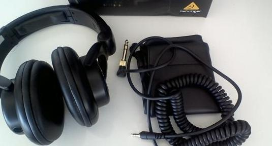 Auriculares profesionales para dj behringer hpx600