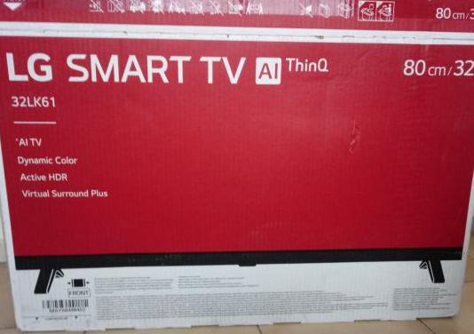 "Televisión lg smart tv 32"" ai thinq"